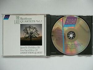 Lindsays SQT plays Beethoven String Quartet No 13 & Grosse Fuge ASV 602 CD