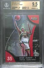 2007-08 Topps Finest Refractor #71 Kevin Durant BGS 9.5