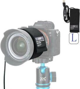 JJC Lens Dew Heater Warmer Strip for Telescopes Camera Lens Anti-Freezing/Fog