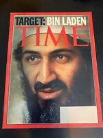 Time Magazine October 1, 2001- The War On Terror- The Taliban, Target- Osama