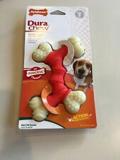 Brand New in Package Dura Chew NYLABONE Bacon Flavored Chew Toy Dental