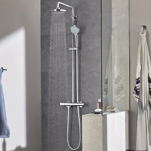 GROHE 27296001 Euphoria 180 Thermostatic Shower with Bar Shower Mixer