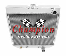 1964 1965 1966 1967 1968 Ford Galaxie 3 Row Champion Radiator By SubZero