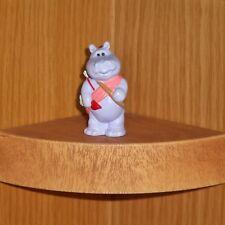 Hallmark Valentine Merry Miniature 1990 Hippo Cupid