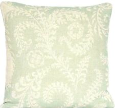 Mint Green Cushion Cover Raoul Fabric Morelia Linen Floral Printed Square 16""