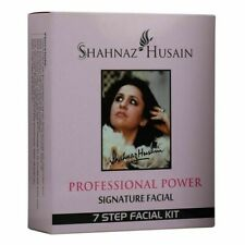 2 X Shahnaz Husain Professional Power Signature Facial 7 Step Facial Kit 48g+15m