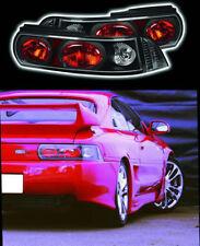 New Crystal Black Rear Tail lights Clusters Lenses Lights Toyota MR2 SW20 MK2