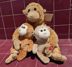 vintage PBC MUSICAL COLLECTION Animated MONKEYS Sing DAY-O chantilly lane