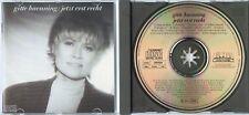 GITTE HAENNING Jetzt erst recht 1987 GERMANY CD TOP! rare oop 1press SONOPRESS