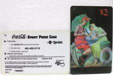 Coca-Cola - SCORE BOARD-SPRINT PHONE CARD n° 21 - sc. 02/08-scheda telefonica