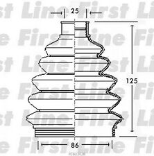 FCB2302R FIRST LINE CV JOINT BOOT KIT fits Seat, Volkswagen - Outer