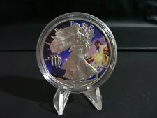 2014 $1 1 oz .999 Fine Silver American Eagle Colorized Uncirculated NR :
