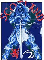 BRAVEHEART SCOTLAND RUGBY HOODIE FOOTBALL SCOTTISH WILLIAM WALLACE  NATIONS