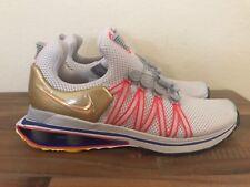 Nike Shox Gravity Vast Grey Metallic Gold AQ8553-009 Men's Size 8.5, Women's 10