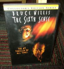 The Sixth Sense - Collector'S Edition Dvd Movie, Bruce Willis, Haley Osment, Ws