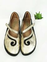 Naot Matai Mary jane Comfort Shoes Women US 10 - 10.5 EUR 41 METALLIC Great cond
