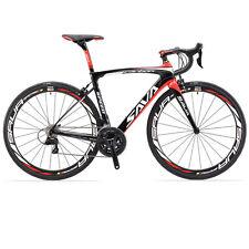 SAVA HERD6.0 Carbon 700C Road Bike Shimano 105 5800 22 Speed Bicycle w/ 25C Tire