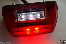 2 x LED immatriculation éclairage plaque Lampes pour remorque Schmitz rouge /
