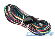 NEW FACTORY AMP CAR STEREO AUDIO TUNER BYPASS WIRING HARNESS INSTALLATION WIRE