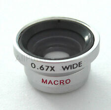 Wide Angle/Macro Lens for Kodak Zi6 Zx1 Zx3 PLAYSPORT