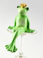 9942048 Porzellan-Figur Froschkind kleiner Frosch Froschkönig 6,5x8x10cm