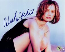 Calista Flockhart Ally McBeal  SIGNED 8x10 Photo COA!