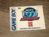 The Cool Spot Adventure Instruction Manual Booklet Nintendo Game Boy Authentic