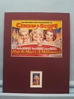 Marilyn Monroe in How to Marry a Millionaire honored by the Marilyn Monroe stamp