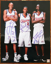 Lamar Odom Quentin Richardson Darius Miles SIGNED 16x20 Photo PSA/DNA AUTOGRAPH