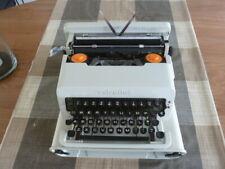 Olivetti Valentine Ettore Sottsass grey white typewriter design in box complete