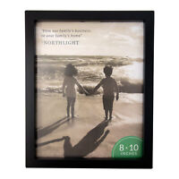 """Northlight 10.75"""" Classical Rectangular 8"""" x 10"""" Photo Picture Frame Matte Black"""