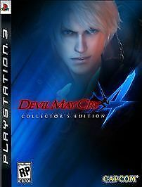 Devil May Cry 4 -- Collector's Edition (Sony PlayStation 3, 2008)