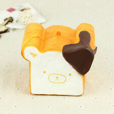 Jumbo Rilakkuma Squishy Cellphone Strap Bread Scent Toast Slow Rising Hot Decor