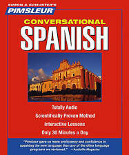 Conversational Spanish by Pimsleur (CD-Audio, 2011)