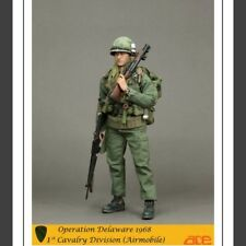 "ACE Toys 1/6 Scale 12"" Operation Delaware 1968 Radioman Action Figure 13011"
