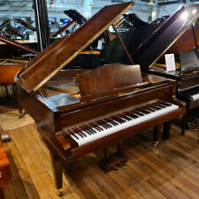 More details for bluthner style 4 baby grand piano mahogany | 117796 | sherwood phoenix | lock...