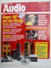 Audio 9/84, Denon DCD 1800,pma 737, Philips CD 104, TEAC PD 11, yamaha CD 2,itt 3995
