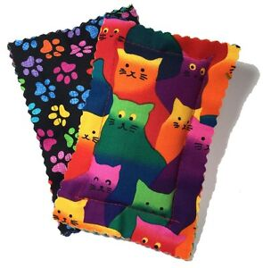 Catnip Pillows Two Pack Crazy Cat, New, Free Shipping -- Made in the USA