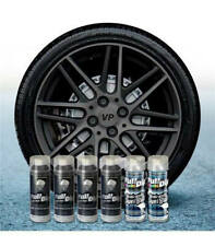 PACK JANTES 6 SPRAY FULL DIP HYPERBLACK METALLIC BRILLANT FULLDIP PLASTIDIP