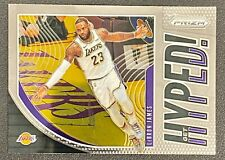 2019-20 Panini PRIZM #2 LEBRON JAMES HYPED INSERT LAKERS