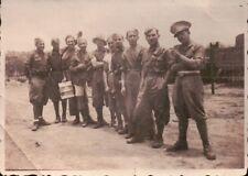 FOTO MILITARI REGIO ESERCITO - AFRICA 1936ca - AUTIERI -  (C4-1933)