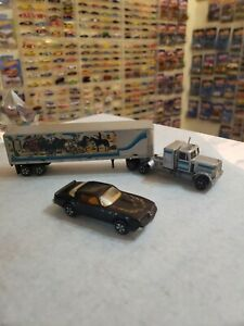 Ertl Smokey And The Bandit Il 1/87 Snow Man Very Good Vintage Trailer/Truck/Car‼