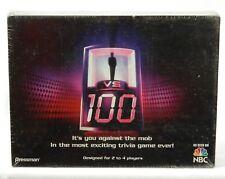 1 VS 100 Trivia Board Game Pressman 2007 -  Still New Sealed Ages 12+
