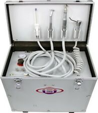 Portable Mobile Dental Unit BD-402 With Air Compressor+Suction+3Way Syringe LMWS