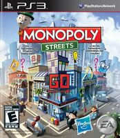 NEW Monopoly Streets (Playstation 3, 2010) video game