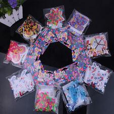 5mm Hama Perler Beads DIY Kids Craft Plastic Puzzle Pegboards bead Toys Ln