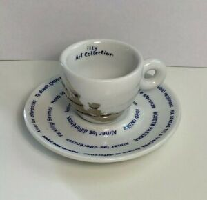 Illy Art Collection Espressotasse Pistoletto Love Difference  Limitiert
