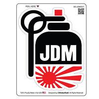 "JDM GRENADE V1 (4"" x 3"") Full Color Printed Vinyl Decal Window Sticker"