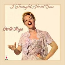 PATTI PAGE - I THOUGHT ABOUT YOU  CD NEW+