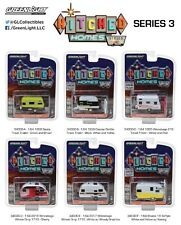 Greenlight 34030 Hitched Homes Series 3 Diecast 6pc Trailer Set 1:64 Scale